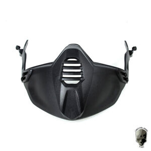 TMC Airsoft Guide Rail Connect Half Face Mask For SF Paintball Helmet Military
