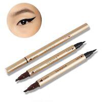 Sided Long Lasting Eyeliner Eyebrow Pencil Makeup Tool Waterproof Liquid Pen
