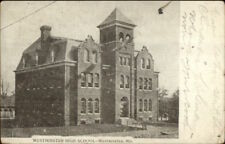Westminster MD High School c1910 Postcard rpx