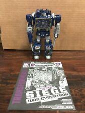 Transformers WFC Siege Soundwave