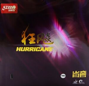 """DHS HURRICANE 3 """"Provincial"""" Rubber ITTF Approved"""