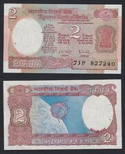 New listing India 2 Rupees 1975 (76) Fds / Unc (2 Small Holes) C-07
