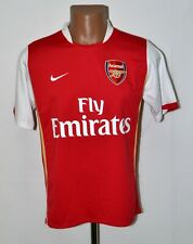 ARSENAL 2006/2008 HOME FOOTBALL SHIRT JERSEY NIKE SIZE S ADULT