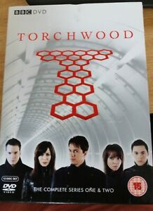Torchwood The Complete Series 1& 2 DVD Box Set