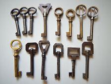 Lot de 14 Anciennes Clés Clef,Porte Meuble Tiroir,Bufet,Vintage Keys Art Déco
