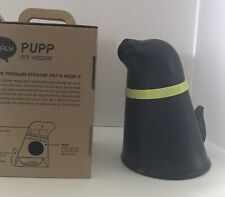 Qualy Pupp Pet Feeder Dog Puppy Food Bowl and Storage New In Box