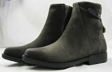Cougar Shoes Womens Yazoo Waterproof Leather Boots, Gunmetal Grey, Size 8 - NEW