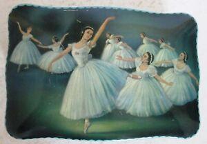 1950s Ballet Dancers Biscuit  Tin
