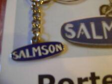 1 porte clé pour collectionneur  MARQUE SALMSON