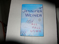 All Fall Down by Jennifer Weiner (2014, Hardcover) SIGNED 1st/1st Target Edition