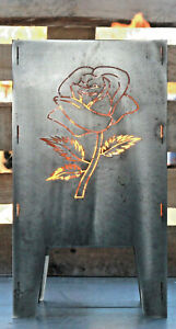 Feuerkorb Rose 300 x 300 Serie Coybo Feuerschale Gartenfeuer Feuerstelle