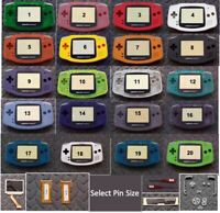 Game Boy Advance Backlight  Backlit Adapt AGS101 Mod Kit- w/LCD Pick Color