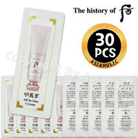 The history of Whoo All In One Cream 1ml x 30pcs (30ml) Sample Newist Version