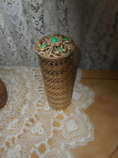 SAM FINK FILIGREE WITH GEM STONES, HAIRSPRAY / LOTION HOLDER