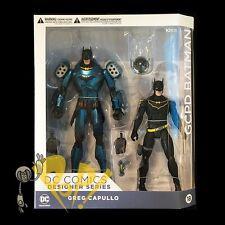 DC Designer Series BATMAN & ARMORED Greg CAPULLO Action Figure DC COLLECTIBLES!