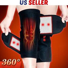 1Pair Magnetic Heating Therapy Knee Brace Support Protection Belt Adjustable