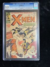 The X-Men (1963) Key Issue #1 CGC Graded 3.5 VG-