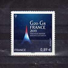 Adhésif - Timbre G20 - G8 France 2011 neuf xx