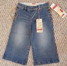 NWT Let Me B Bongo Girls Denim Jean Long Shorts - Size 8