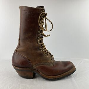 White's Men's Western Packer Pointed Toe Boots - Brown Mismatched Sizes? 6.5/7.5