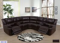 Leather Sectional Sofa Green Ebay