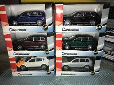Hongwell Cararama Set of 6 Porsche Cayenne S SUVs Multiple Colors MIB