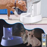 1.8L Automatischer Wasserbrunnen für Katzen Hunde Wasserspender Ersatzfilter