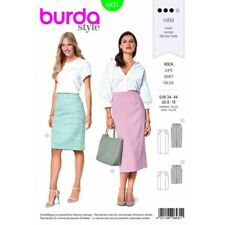 Burda Style Misses' Two Length Pencil Skirt Fabric Sewing Pattern 6431