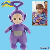 Teletubbies Talking Soft Toy - Tinky Winky Purple Plush Toy with Sound & Phrases