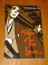 HOUSE OF FIVE LEAVES VIZ MEDIA SIGIKKI NATSUME ONO MANGA GN VOLUME 6 <