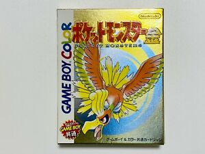 Pokemon Gold KIN Ver. Game Boy Color Pocket Monster Nintendo New FedEx tracking