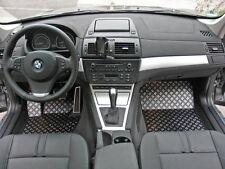 BMW X3 Typ E83/X83 Alu Fußmatten Set 5-tlg. DBE-S
