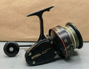 Lovely Vintage Old School Mitchell 498 Sea Fishing Reel Made In France SU976