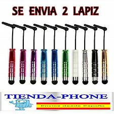 2x Lapiz tactil PEQUEÑO para moviles y tablets Puntero Pen touch screen mobile