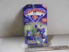 "Superman Animated Series Anti-Kryptonite Superman 5""in Figure Kenner 2001"