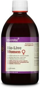 Microbz Bio-Live Women 475ml