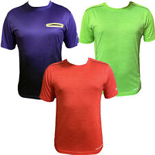 AND1 Mens Performance Dri Fit Moisture Wicking Workout Gym Tee Crew Neck T-shirt