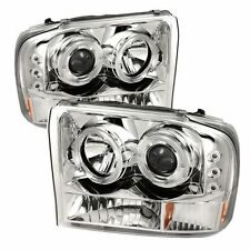 Spyder 5010360 PRO-YD-FF25099-1P-G2-C Projector Headlights Vers 2 Halo LED Chrm