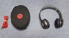 Beats Solo Auriculares Monster Genuino Original Negro Plegable Con Estuche Grado B