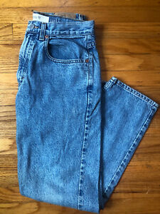 Vintage 90s Gap mens blue jeans.31/30 Easy Fit. Medium Wash.made in USA