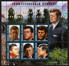 MARSHALL ISLANDS, SCOTT # 975, FULL SHEET OF PRESIDENT JONH FITZGERALD KENNEDY