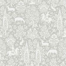 Archives Forêt Papier Peint Gris - Crown M1168 Floral