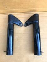 NOS DUCATI 98 125 BRONCO 100 125 TS SINGLE BEVEL  R+L Front Forks Headlight #3