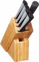 Kai Luna Kitchen Knife Block Set (6 Pieces) -  High-Carbon Stainless Steel