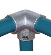 Galvanised Handrail System Easy Allen Key 3-Way 48mm D Pipe Tube Clamp Inch