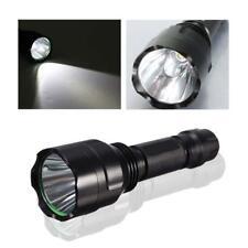 8000 LM XM-L T6 C8 LED Flashlight 18650 Torch Lamp Light Hiking Camping PW