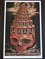 Nine Inch Nails Mini-Concert Poster Reprint for 2013 Auburn WA 14x10
