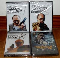 TORRENTE 1-4 LAS 4 PELICULAS EN DVD NUEVO PRECINTADO CINE ESPAÑOL (SIN ABRIR) R2