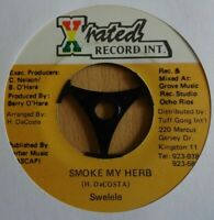 "SWELELE / X-RATED GANG - Smoke My Herb - 7"" Vinyl - Jamaica 🇧🇴 ROOTS REGGAE"