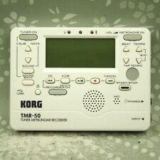 KORG TMR-50 White Tuner Metronome Recorder
